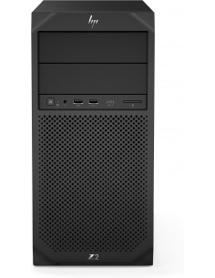 HP Z2 G4 9. sukupolven Intel® Core™ i7 i7-9700K 16 GB DDR4-SDRAM 512 SSD Tower Musta Työasema Windows 10 Pro Hp 6TX76EA#UUW - 1
