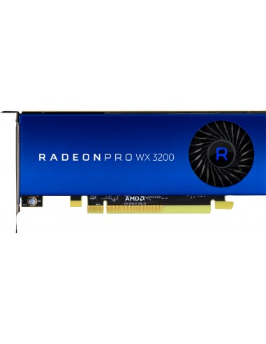 HP AMD Radeon Pro WX 3200 4GB (4)mDP GFX Hp 6YT68AA - 1