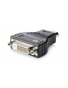 HP HDMI to DVI Adapter DVI-D Black Hp F5A28AA - 1