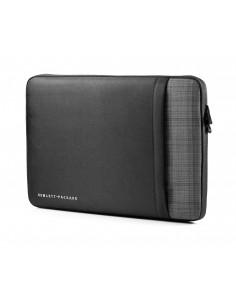 """HP Ultrabook Professional Sleeve 15.6 laukku kannettavalle tietokoneelle 39.6 cm (15.6"""") Suojakotelo Musta, Harmaa Hp F8A00AA -"""