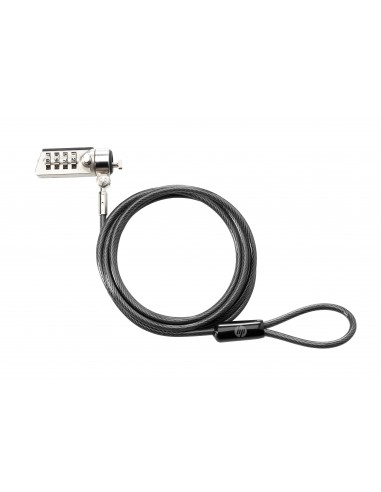 HP Combination lock cable Black 1.83 m Hp T0Y15AA - 1