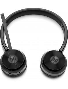 HP UC Wireless Duo Kuulokkeet Pääpanta Bluetooth Musta Hp W3K09AA#ABB - 1