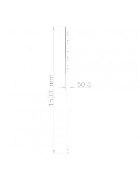 Newstar flat screen mount extension pole Newstar FPMA-CP150 - 2