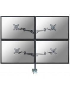 """Newstar FPMA-D935D4 fäste och ställ till bildskärm 68.6 cm (27"""") Klämma Silver Newstar FPMA-D935D4 - 1"""