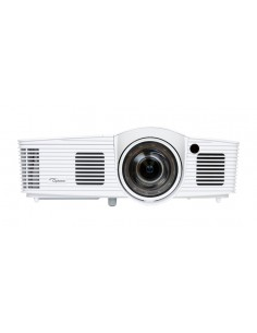Optoma GT1080E dataprojektori Pöytäprojektori 3000 ANSI lumenia DLP 1080p (1920x1080) 3D Valkoinen Optoma 95.8ZF01GC2E - 1