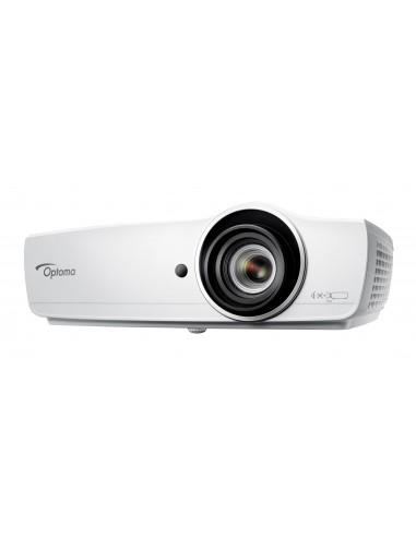 Optoma EH470 dataprojektori Pöytäprojektori 5000 ANSI lumenia DLP 1080p (1920x1080) 3D Valkoinen Optoma E1P1D0ZWE1Z1 - 1