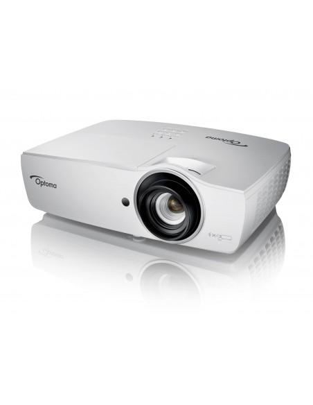 Optoma EH470 dataprojektori Pöytäprojektori 5000 ANSI lumenia DLP 1080p (1920x1080) 3D Valkoinen Optoma E1P1D0ZWE1Z1 - 4