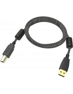 Vision TC 1MUSB/HQ USB-kablar 1 m USB 2.0 A B Svart, Vit Vision TC 1MUSB/HQ - 1