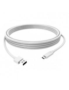 Vision TC 3MUSBCA USB-kablar 3 m USB 3.2 Gen 1 (3.1 1) A C Vit Vision TC 3MUSBCA - 1