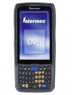 "Intermec CN51 mobiilitietokone 10.2 cm (4"") 480 x 800 pikseliä Kosketusnäyttö 350 g Musta Intermec CN51AQ1NCU2W1000 - 1"