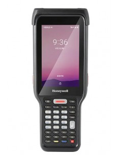 "Honeywell ScanPal EDA61K mobiilitietokone 10.2 cm (4"") 800 x 480 pikseliä Kosketusnäyttö 460 g Musta Honeywell EDA61K-1AUB34PGOK"