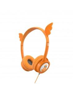 IFROGZ 304101848 kuulokkeet ja kuulokemikrofoni Pääpanta 3.5 mm liitin Oranssi Zagg 304101848 - 1