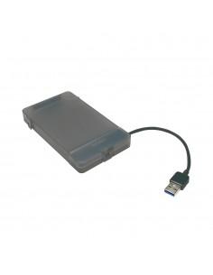 "LogiLink AU0037 tallennusaseman kotelo 2.5"" HDD-/SSD-kotelo Harmaa Logitech AU0037 - 1"