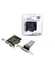 LogiLink PC0033 liitäntäkortti/-sovitin Rinnakkainen, Sarja Sisäinen Logitech PC0033 - 1
