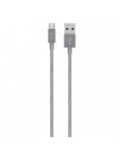 Belkin F2CU021BT04-GRY USB cable 1.2 m A Micro-USB Grey Belkin F2CU021BT04-GRY - 1