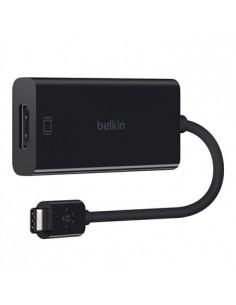 Belkin F2CU038BTBLK cable gender changer USB type C HDMI Musta Belkin F2CU038BTBLK - 1