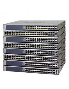 Netgear M5300-28GF3 hanterad L2+ Strömförsörjning via Ethernet (PoE) stöd 1U Silver Netgear GSM7328FS-200NES - 1