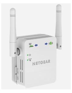 Netgear N300 WiFi Range Extender Verkkolähetin ja -vastaanotin Valkoinen 10. 100. 300 Mbit/s Netgear WN3000RP-200PES - 1