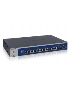 Netgear XS512EM Managed L2 10G Ethernet (100/1000/10000) 1U Blue, Grey Netgear XS512EM-100EUS - 1