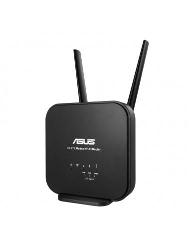 ASUS 4G-N12 B1 langaton reititin Nopea Ethernet Yksi kaista (2,4 GHz) Musta Asus 90IG0570-BM3200 - 1