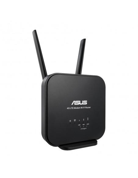 ASUS 4G-N12 B1 langaton reititin Nopea Ethernet Yksi kaista (2,4 GHz) Musta Asus 90IG0570-BM3200 - 2