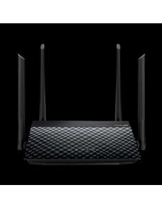 ASUS RT-N19 N600 trådlös router Snabb Ethernet Singel-band (2,4 GHz) Svart Asus 90IG0600-BN9510 - 1