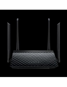 ASUS RT-N19 N600 wireless router Fast Ethernet Single-band (2.4 GHz) Black Asus 90IG0600-BN9510 - 1