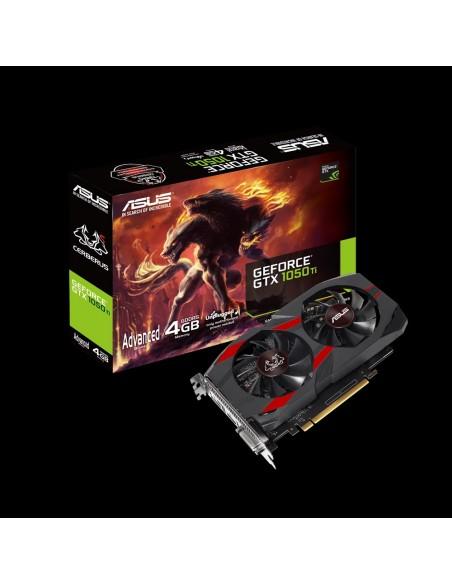ASUS CERBERUS-GTX1050TI-A4G NVIDIA GeForce GTX 1050 Ti 4 GB GDDR5 Asus 90YV0A75-M0NA00 - 10