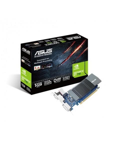 ASUS 90YV0AL0-M0NA00 grafikkort NVIDIA GeForce GT 710 1 GB GDDR5 Asus 90YV0AL0-M0NA00 - 1