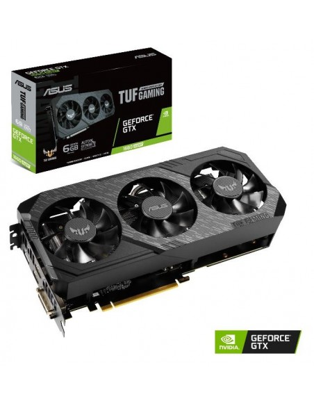 ASUS TUF Gaming 3-GTX1660S-6G-GAMING NVIDIA GeForce GTX 1660 SUPER 6 GB GDDR6 Asus 90YV0DS2-M0NA00 - 9