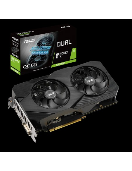 ASUS Dual -GTX1660S-O6G-EVO NVIDIA GeForce GTX 1660 SUPER 6 GB GDDR6 Asus 90YV0DS3-M0NA00 - 1