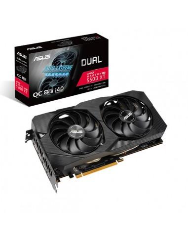 ASUS Dual 90YV0DV1-M0NA00 grafikkort AMD Radeon RX 5500 XT 8 GB GDDR6 Asus 90YV0DV1-M0NA00 - 1