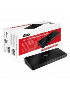CLUB3D CSV-1562 kannettavien tietokoneiden telakka ja porttitoistin Telakointi Musta Club 3d CSV-1562 - 1