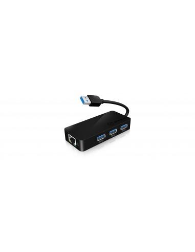 RaidSonic IB-AC517 USB 3.2 Gen 1 (3.1 1) Type-A Svart Raidsonic 70545 - 1