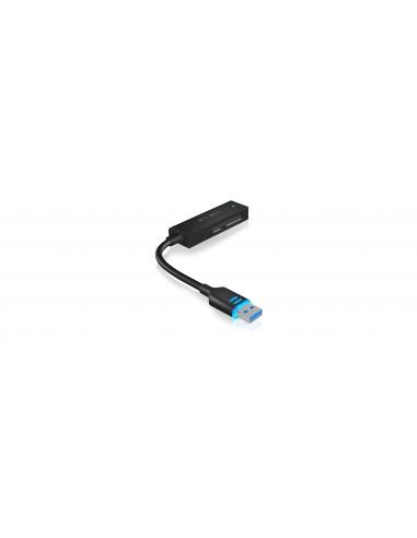 ICY BOX IB-AC603L-U3 USB 3.0 SATA Musta Raidsonic 70630 - 1