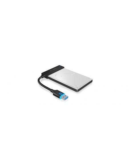 ICY BOX IB-AC603L-U3 USB 3.0 SATA Musta Raidsonic 70630 - 2