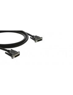 Kramer Electronics C-DM/DM-1.5 DVI-kaapeli 0.45 m DVI-D Musta Kramer 94-01010015 - 1