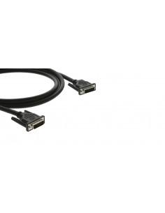 Kramer Electronics C-DM/DM-6 DVI-kabel 1.8 m DVI-D Svart Kramer 94-0101006 - 1