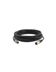 Kramer Electronics XLR Quad Style, 22.9m audio cable (3-pin) Black Kramer 95-1211075 - 1