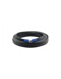 Kramer Electronics C-HM/HM/FLAT/ETH-3 HDMI-kabel 0.9 m HDMI Typ A (standard) Svart Kramer 97-01014003 - 1