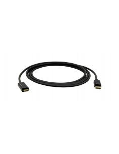 Kramer Electronics C-DPM/HM/UHD-10 cable gender changer DisplayPort HDMI Svart Kramer 97-0611010 - 1