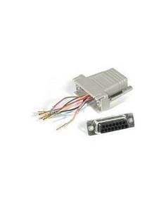 C2G RJ45/DB15F Modular Adapter DB15 FM Harmaa C2g 81537 - 1