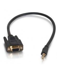 C2G 0.5m DB9 - 3.5mm m/f Black C2g 87188 - 1