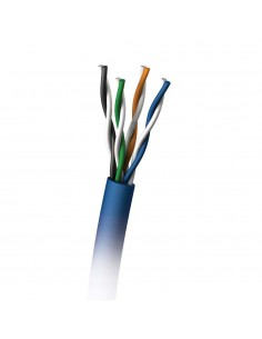 C2G 305M Cat5E 350MHz UTP Solid PVC CMR Cable verkkokaapeli Sininen U/UTP (UTP) C2g 88001 - 1