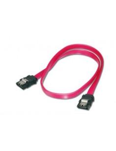 ASSMANN Electronic 2x SATA 7-pin, 0.3 m SATA-kaapeli Musta, Punainen Assmann AK-400102-003-R - 1