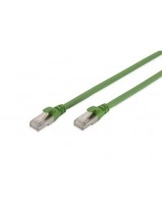 Digitus DK-1644-A-PUR-005 nätverkskablar Grön 0.5 m Cat6a S/FTP (S-STP) Assmann DK-1644-A-PUR-005 - 1