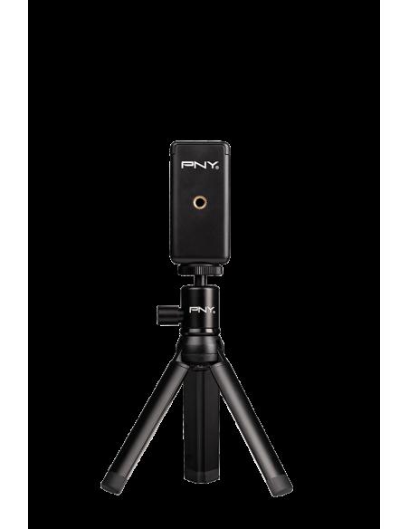 PNY P-T-BTRI001K-RB tripod Smartphone/Action camera 3 leg(s) Black Pny P-T-BTRI001K-RB - 3