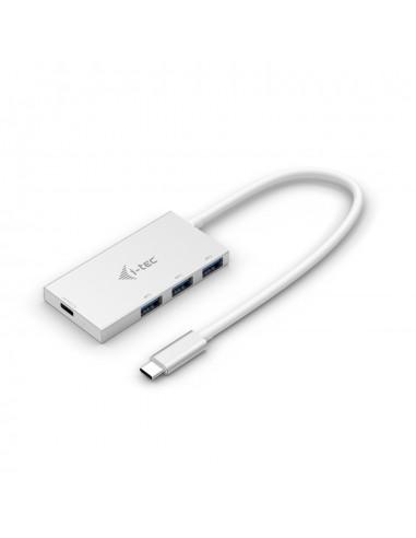 i-tec Advance C31HUB3PD keskitin USB 3.2 Gen 2 (3.1 2) Type-C 5000 Mbit/s Valkoinen I-tec Accessories C31HUB3PD - 1
