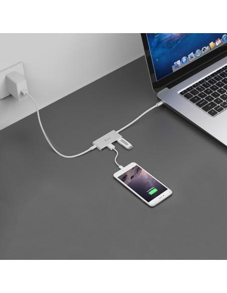 i-tec Advance C31HUB3PD keskitin USB 3.2 Gen 2 (3.1 2) Type-C 5000 Mbit/s Valkoinen I-tec Accessories C31HUB3PD - 5