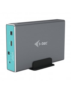 "i-tec CAMYSAFEDUAL25 tallennusaseman kotelo HDD-/SSD-kotelo Harmaa 2.5"" I-tec Accessories CAMYSAFEDUAL25 - 1"